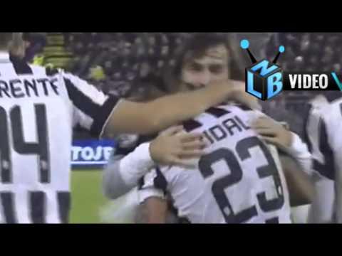 NLB Cuplikan Gol Cagliari 1-3 Juventus (Serie-A) 19 Des 2014
