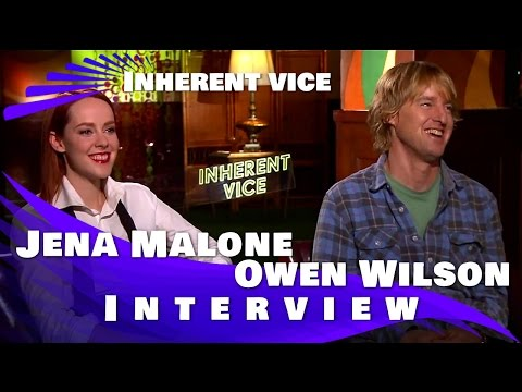 Jena Malone and Owen Wilson Interview for Inherent Vice