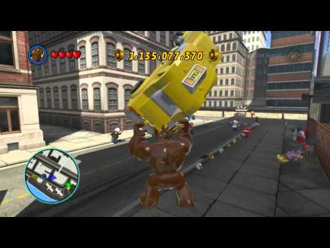 LEGO Marvel Super Heroes The Video Game - Groot free roam
