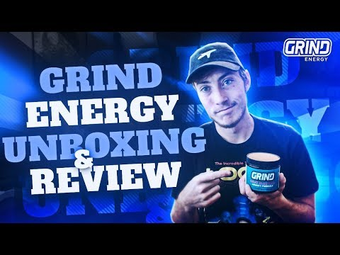 GRIND Energy: Unboxing and Review #R3D
