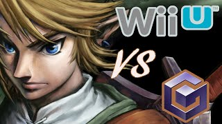 Twilight Princess GameCube vs Wii U (Graphics Comparison)