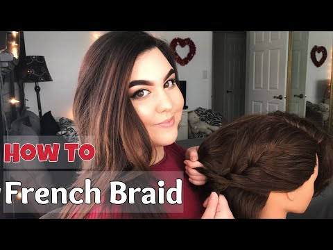 How To French Braid  Ms Laris Beauty