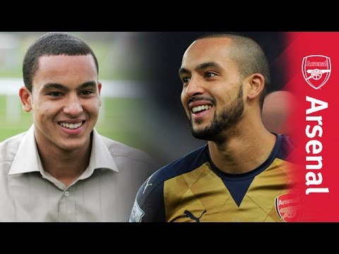 Theo Walcott's amazing 10 years at Arsenal