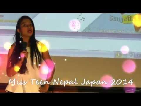Miss Teen Nepal Japan 2014