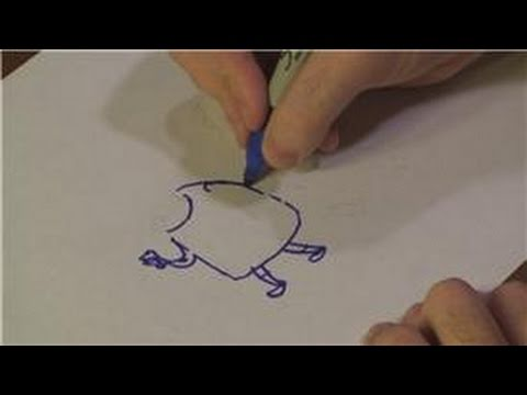 how to draw animals using numbers and letters