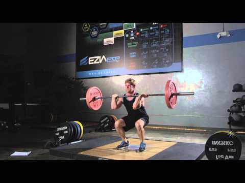 Clean and Jerk, an EZIA Coach Exercise Image 1