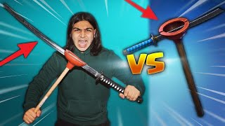 FORTNITE PICKAXES IN REAL LIFE!   HOW TO MAKE BEST FORTNITE AXES IN REAL LIFE (DIY NINJAS PLUNJA!) 13.5 MB