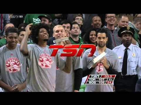 Kyle Lowry steal, DeMar DeRozan dunk in Boston