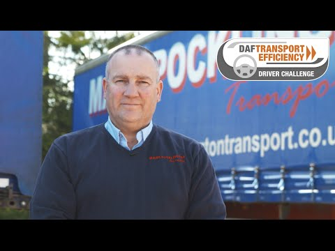 DAF Transport Efficiency Driver Challenge - Meet the Finalists: Mark Pocklington
