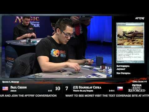 Pro Tour Fate Reforged Round 5 (Modern): Paul Cheon vs. Stanislav Cifka