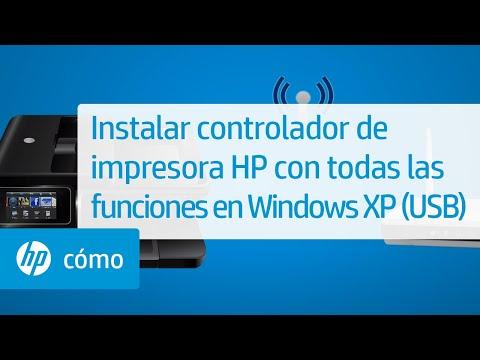 Instalar controlador de impresora HP con todas las funciones en ...