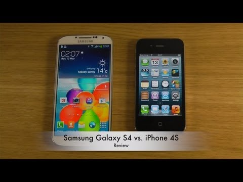 Samsung Galaxy S4 vs. iPhone 4S - Review