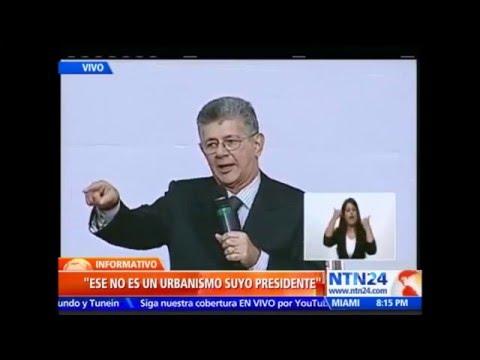 La frontal respuesta de Ramos Allup al discurso de memoria y cuenta de Maduro en la AN