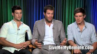ENLISTED: Geoff Stults, Chris Lowell, and Parker Young talk about their time at boot camp