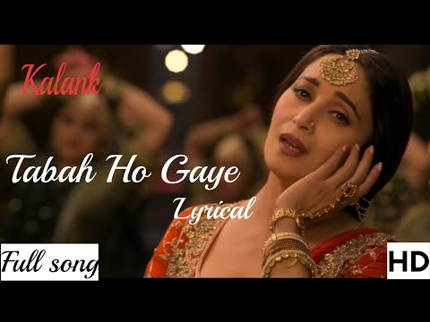 Tabaah Ho Gaye (Kalank 2019)Video-Mp3 SongShreya Ghoshal