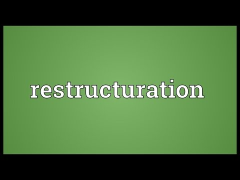 Header of Restructuration