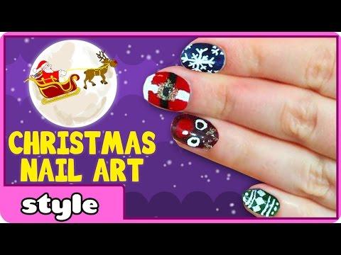 Christmas Nail Art for Kids