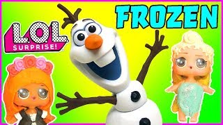 LOL Surprise Dolls Perform Frozen! Starring MC Swag, Coconut QT, Pink Baby, and Diva!