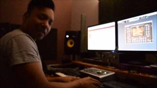 MASTER-D - STUDIO SESSION MAKING BEATS PT 2 | BEHIND THE SCENES | BANGLA URBAN