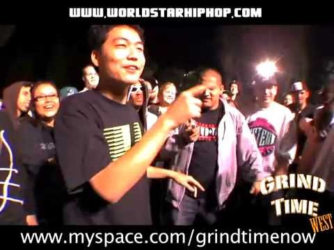 GTN Rap Battle- Tantrum vs Dumbfoundead Pt. 1