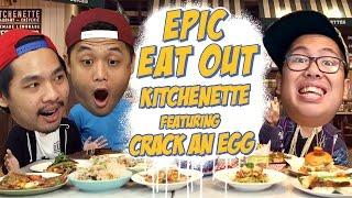 Epic Eat Out #10: Makan Bareng Crack An Egg Di Kitchenette | PUTRA SIGAR