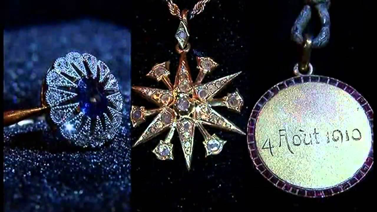Real Titanic Jewelry Jewels Of Titanic now open at