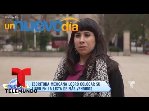 ¡Erika Sánchez, un escritora que es un orgullo latino! | Un Nuevo Día | Telemundo