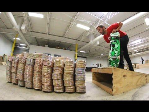 ADIML 52: Kickflip 500 Skateboards!!