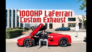 World's FIRST Modified LaFerrari! FXXK Exhaust Sound and Power Tune