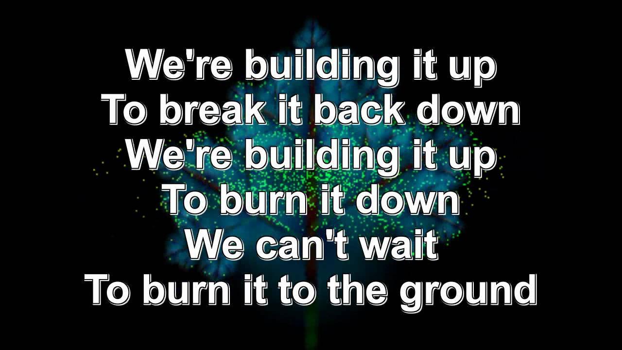 Burning it down linkin park lyrics