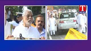 TRS MPs pays Tribute to Atal Bihari Vajpayee | Delhi  live Telugu
