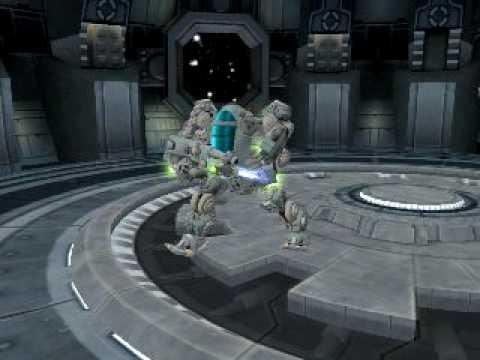 Spore avatar AMP-suit soldier robot