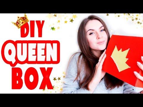 """DIY Подарки на 8 МАРТА * """"Queen BOX"""" 7 разных ИДЕЙ * Bubenitta"""