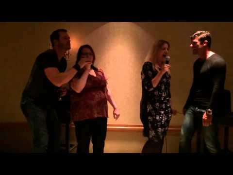Eric Martsolf Greg Vaughan karaoke                                Bad Medicine