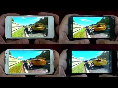 Comparison Galaxy s3 And Iphone 5 Comparison · Iphone 5