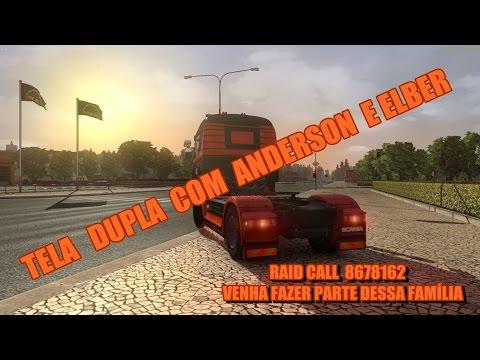 Euro Truck 2 Online Tela Dupla Anderson E Elber