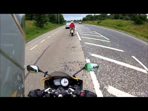 Yamaha YZF R125 & Aprilia RS 125 Summer Time Fun