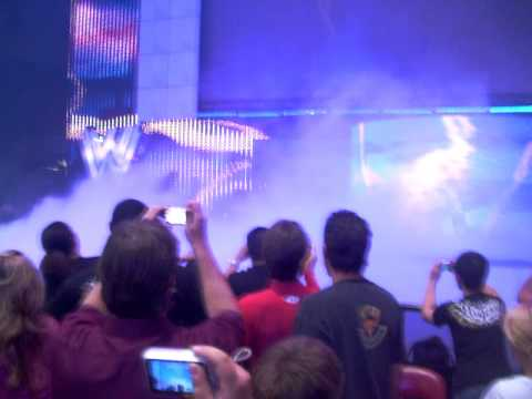Undertaker Entrance Halloween Casket Match video