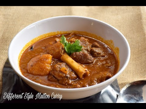 Bengali Style Mutton Curry Recipe with Potato (Different Style) | Authentic Mutton Curry Recipe #557