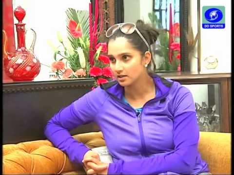Sania Mirza with DD Sports