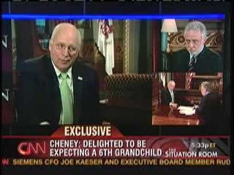 "Cheney on ""Situation Room"" re:..."