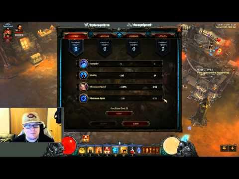 Diablo 3 Reaper Of Souls Stun Lock Monk Level 70 Gear\Skills