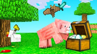 MINECRAFT But We're Playing as ANIMALS!