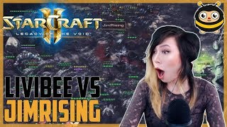 Livibee v JimRising | Zerg v Terran (Late Game)
