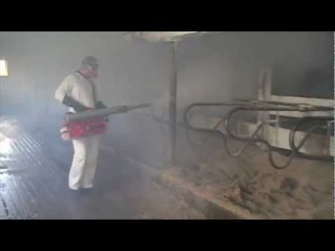 PulsFOG disinfection in a Dairy Barn