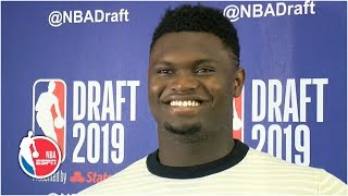 Zion Williamson talks New Orleans, AD Trade, more | 2019 NBA Draft