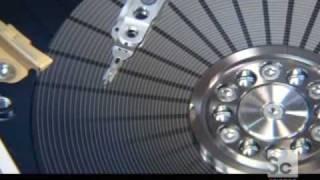 Inside a Hard Disc Drive