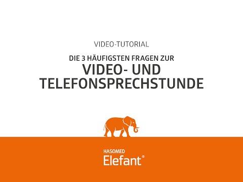Elefant Praxissoftware: Die 3 häufigsten Fragen zur Video- und Telefonsprechstunde