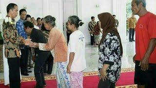 Tamu Presiden Jokowi di Gedung Agung