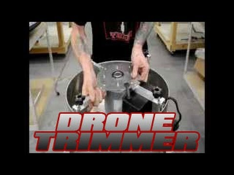 Drone Trimmer   EZ Trims Drone Trimming Machine   Automatic Commercial Flower Bud Trimmer Gentle